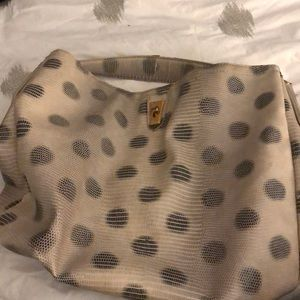 Marc by Marc Jacobs Lizzie dots leather hobo bag